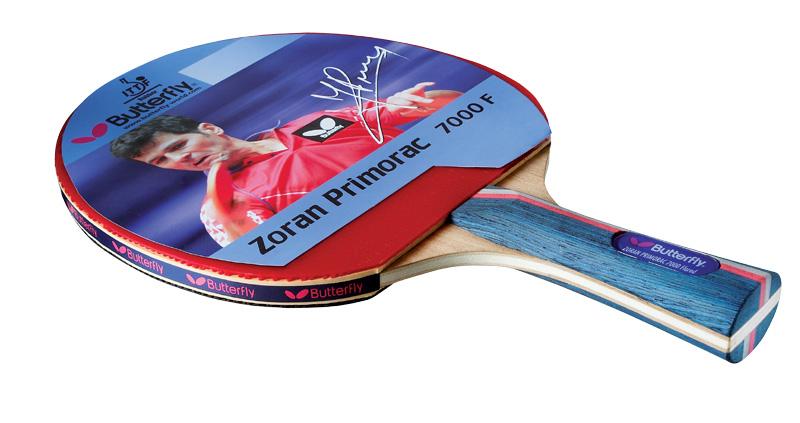 Butterfly zoran primorac 7000 une raquette offensive - Choisir raquette tennis de table ...
